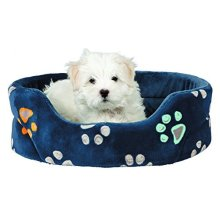 Trixie Jimmy Dog Bed, 65 x 75 Cm, Blue - Bed Dogs Various Sizes New -  trixie bed jimmy blue dogs various sizes new