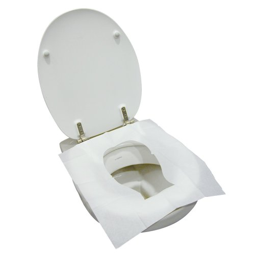 TravelSafe Disposable Toilet Seat Covers - Pack of 10
