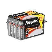 24 x Energizer Alkaline Power AAA LR03 Batteries Bulk Pack Tub