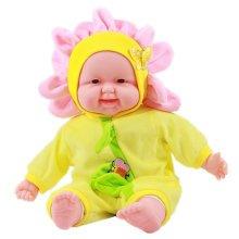 Lifelike Realistic Baby Doll/ Zodiac Doll/ Soft Body Play Doll,Flower Baby Doll