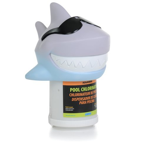 GAME Surfin' Shark Floating Swimming Pool and Spa Chlorinator