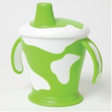 Cow Print Anywayup Toddler Cup