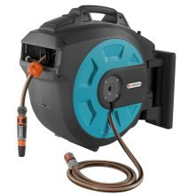 GARDENA Wall-mounted Hose Reel 35 Roll-up Blue 8024-20
