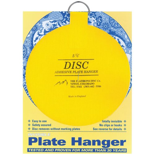 "Invisible Plate Hanger 5.5""-For Plates Up To 6.5lb"