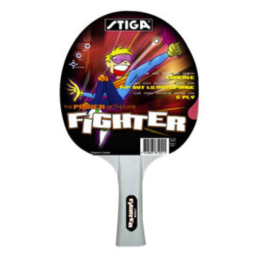 Stiga Table Tennis Bat Fighter (pimples out witth sponge)