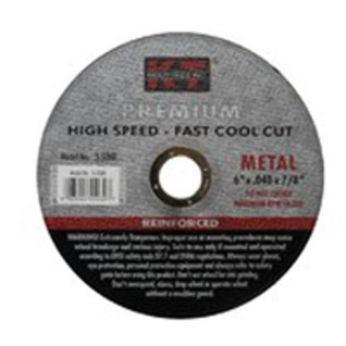 KT Industries 395926074 Quick Cut-Off Wheel - 6 x 0.040 x 0.87 in.
