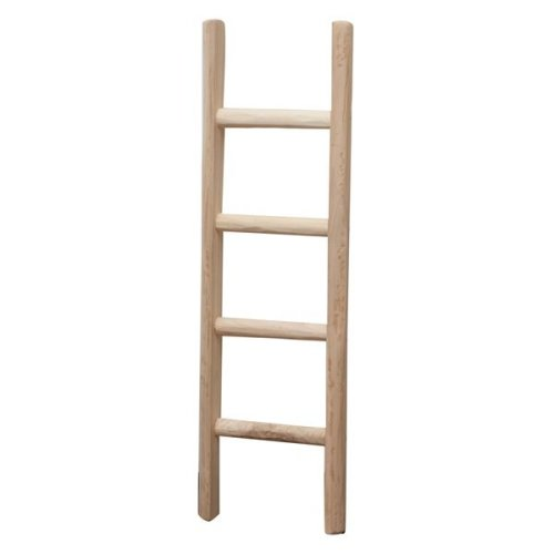W30xdp5,5,xh100 Cm Made In Italy Wood Made Ladder