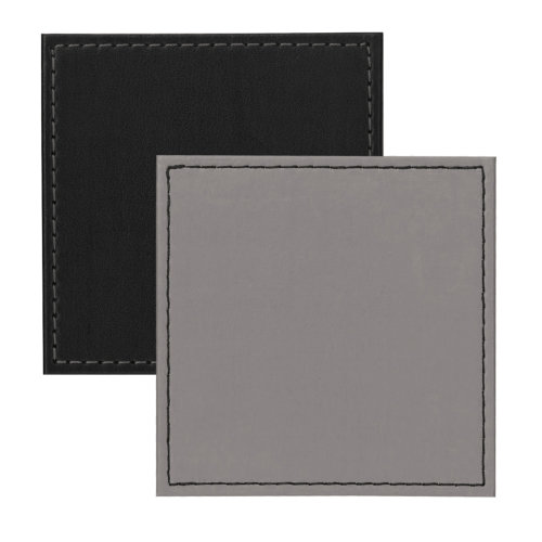 iStyle Reversible Grey and Black Set of 4 Coasters
