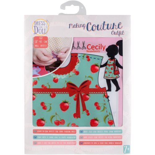 Dress Your Doll Making Couture Outfit Set-Cecily Strawberry