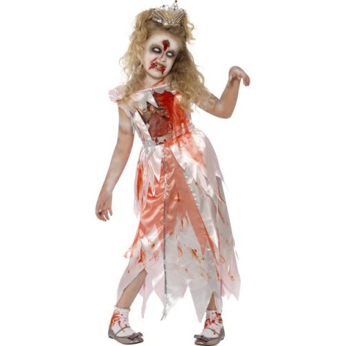 Kids Zombie Sleeping Princess Costume (Small) | Halloween