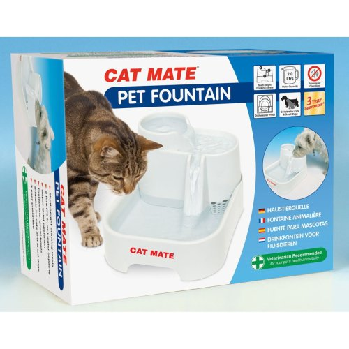 Cat Water Drinking Fountain