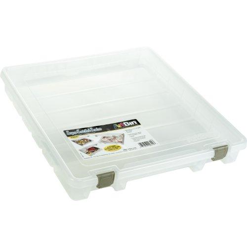 "ArtBin Super Satchel Slim Single Compartment-15.25""X14""X2"" Translucent"