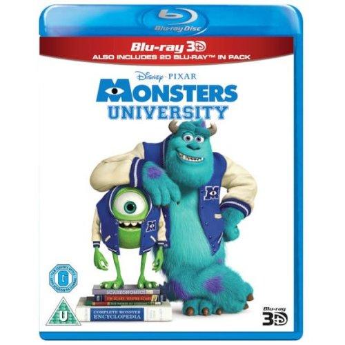 Monsters University 3d (includes 2d Version)