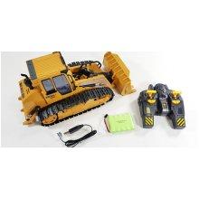 RC Bulldozer Crawler Remote Control Bulldozer Excavator Construction
