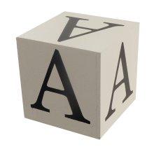 Wooden Block - Letter A