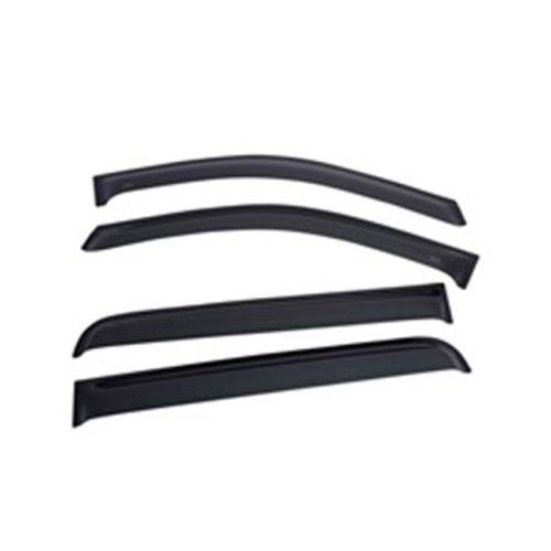 EGR 643171 SlimLine Tape-on WindowVisors Set of 4, Dark Smoke