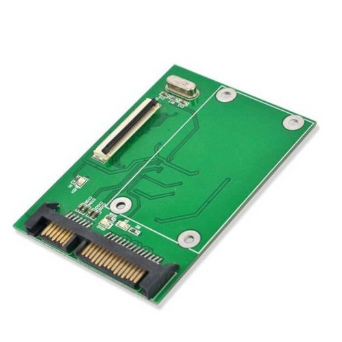 """1.8"""" ZIF LIF CE HDD HardDisk SSD to 7+15 22 Pin SATA Adapter Converter"""