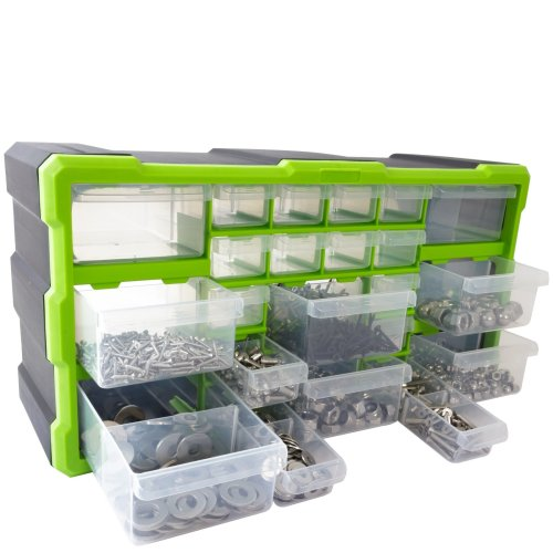 22 Drawer Tool & Fixing Storage Unit