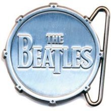The Beatles Belt Buckle: All Metal Drum