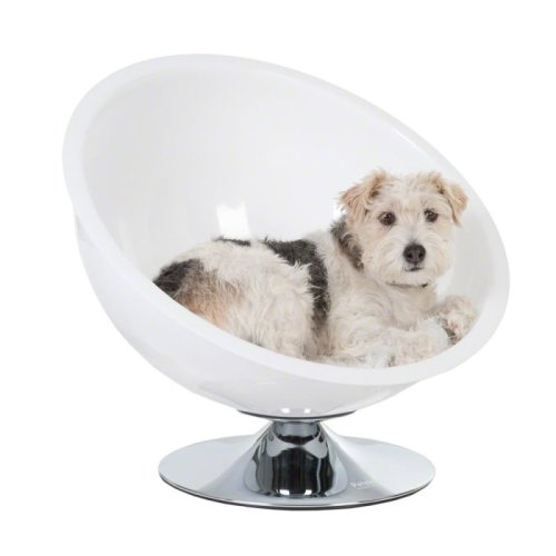 Retro Dog Chair Bed with Cushion