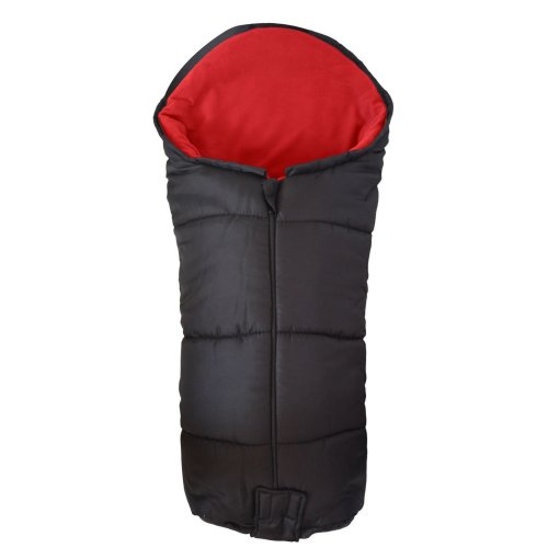 Deluxe Footmuff/Cosy Toes Compatible with Britax Caterpillar B-Motion B-Agile Double Red
