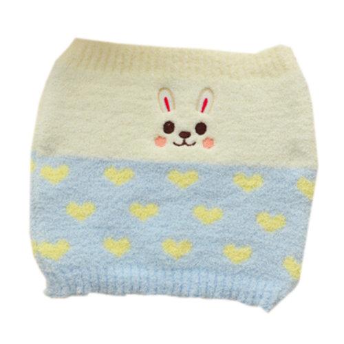 [Blue] Keep Your WAIST/STOMACH/TUMMY Cashmere Belt Lovely Rabbit