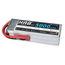Ailikeoprte 6S Lipo Battery 22.2V 5000mAh 50C-100C with Deans T Plug for RC Car Truck Boat Helicopter Quadcopter