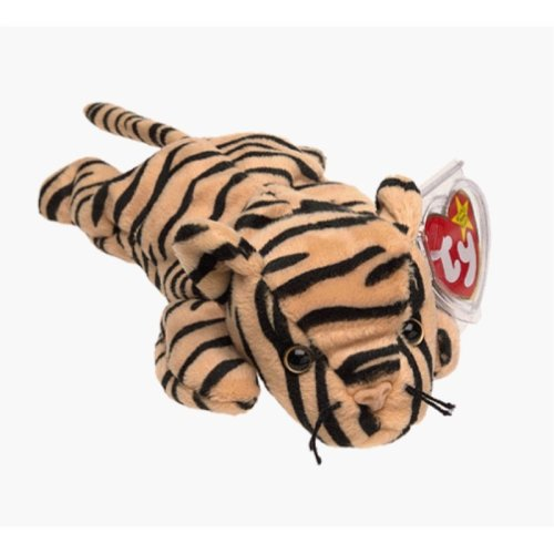 Ty Beanie Babies - Stripes the Tiger