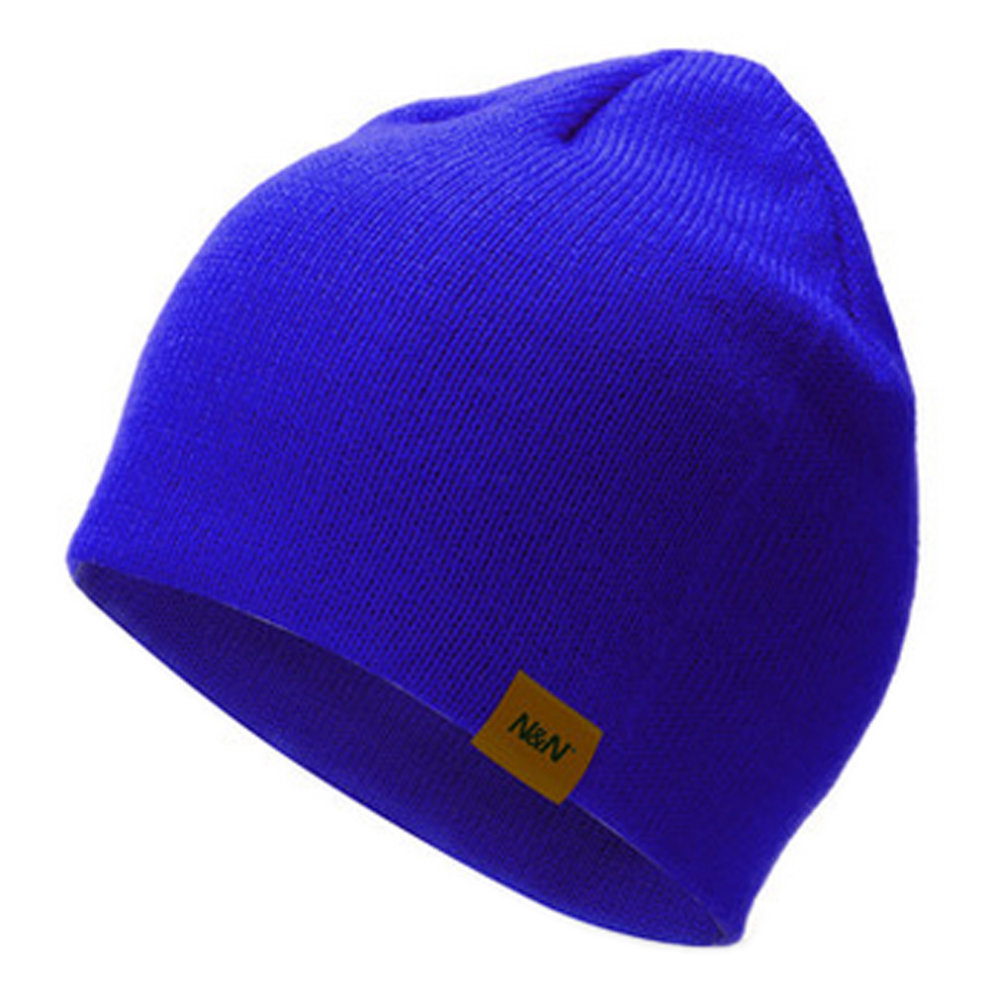 1e3a11a77b4 Unisex Stylish Soft Warm Beanie Hat Ski Snow Cap Knit Winter Hats (  Sapphire ) on OnBuy
