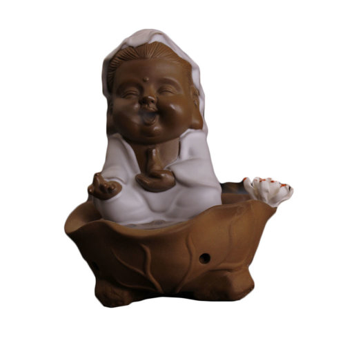 Buddhism Guanyin Incense Burner Incense Holder for Meditation Home Decor