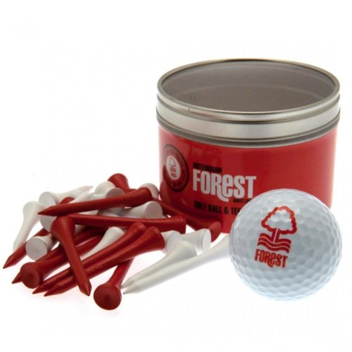 Nottingham Forest FC Ball And Tee Set