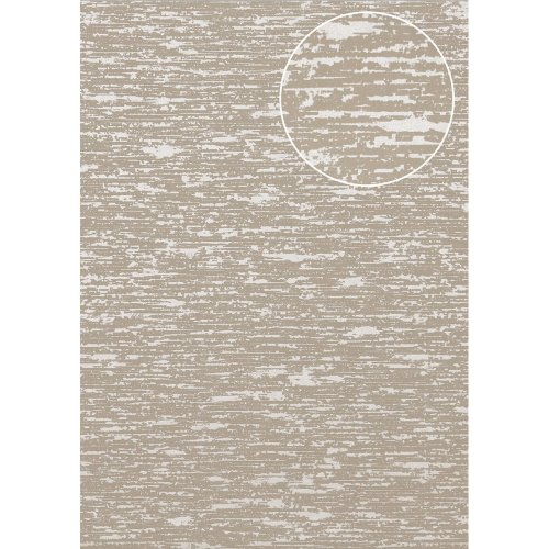 Atlas COL-552-2 Exclusive luxury wallpaper shimmering stone-grey 5.33 sqm