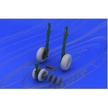 Edb648037 - Eduard Brassin 1:48 - Mig-29 Wheels (eduard)