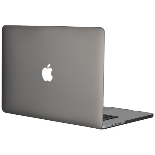 """Topideal Hard Shell Case 15.4""""/ 15"""" MacBook Pro with Retina Display -Gray"""
