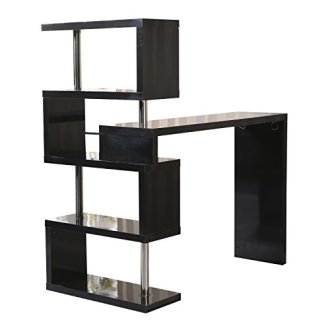 Homcom Modern High Gloss Shelf