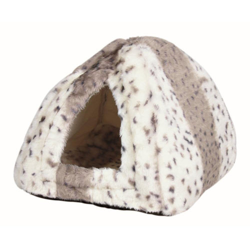Trixie Leila Cuddly Cave for Cats & Small Dogs Beige