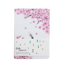 Creative Hand Book Simple Notepad Thicken Diary Notebook, Colored Page-2