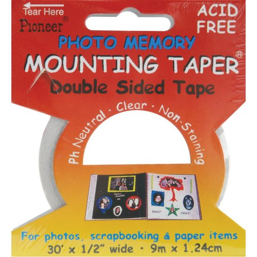 """Photo Memory Double-Sided Mounting Tape-.5""""X30'"""