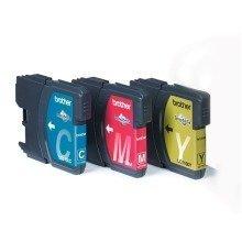 Brother Voordeelverpakking Lc-1100c,m,y Cyan,magenta,yellow Ink Cartridge