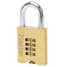 Master Lock Combination Padlock Solid Brass 50 mm 651EURD