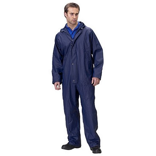 Click SBDCNL Coverall Waterproof Navy Blue Large