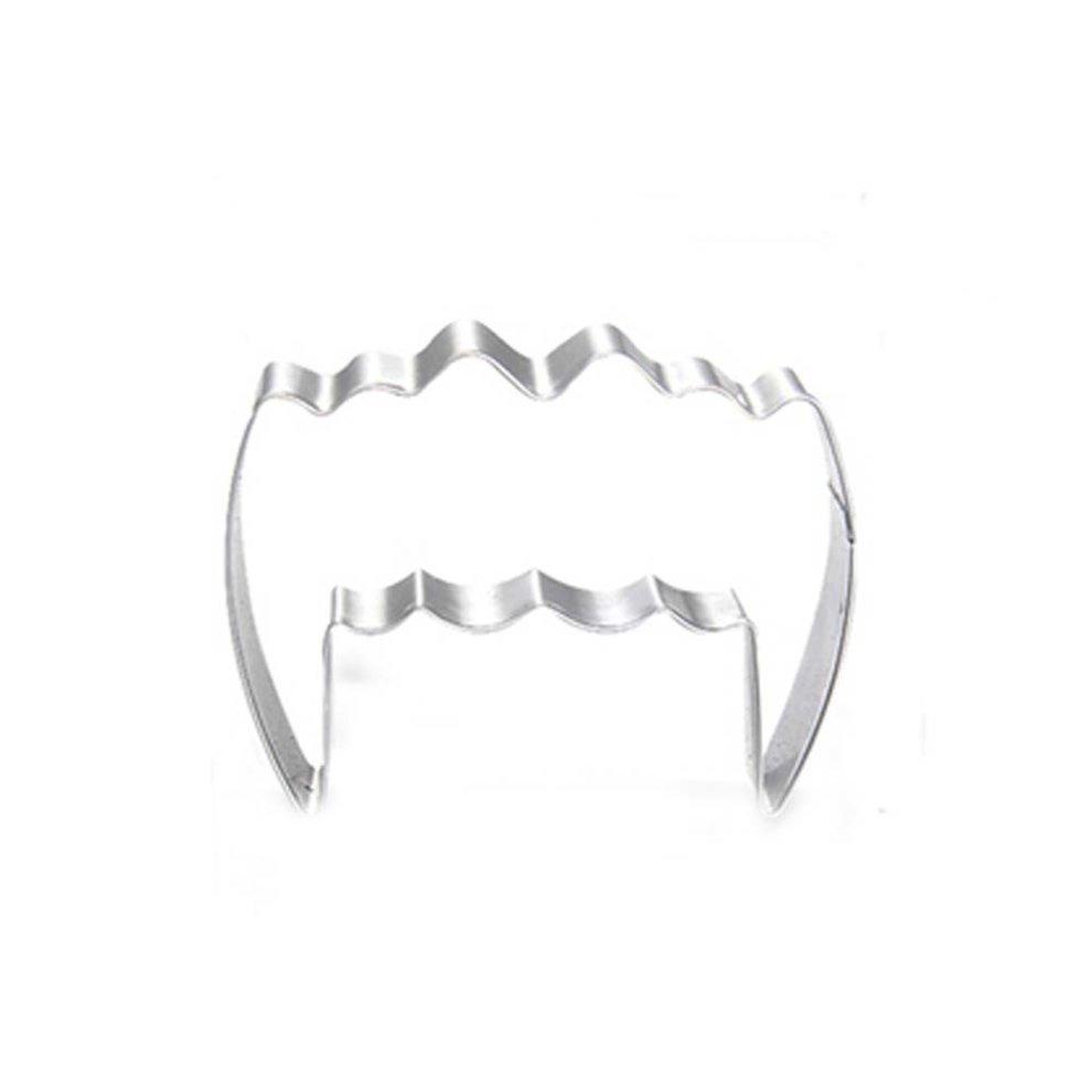 Teeth Shape DIY Stainless Steel Baking Mold Cookies Cut