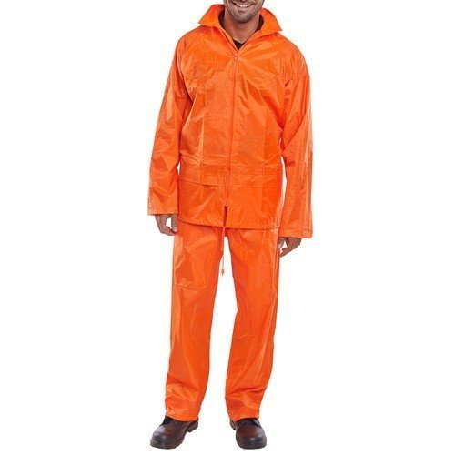 Click NBDSOR4XL Nylon Waterproof Jacket and trousers Orange 4XL