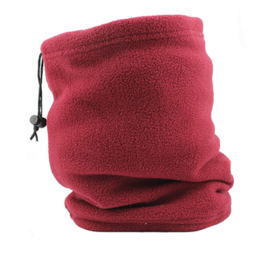 Unisex Warm Scarf Loop Scarfs Headscarf Head Wrap Neck Scarves, Wine