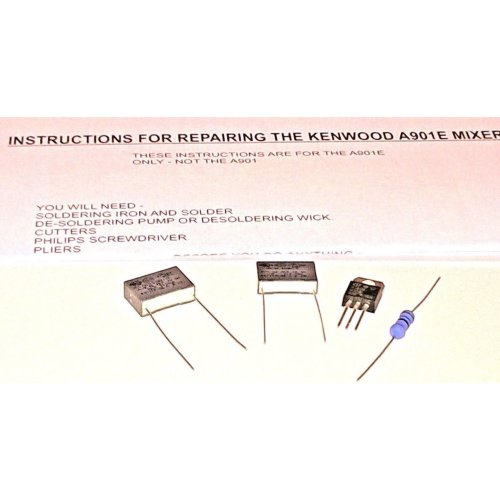Kenwood Chef A901E Mixer Repair Kit and Instructions