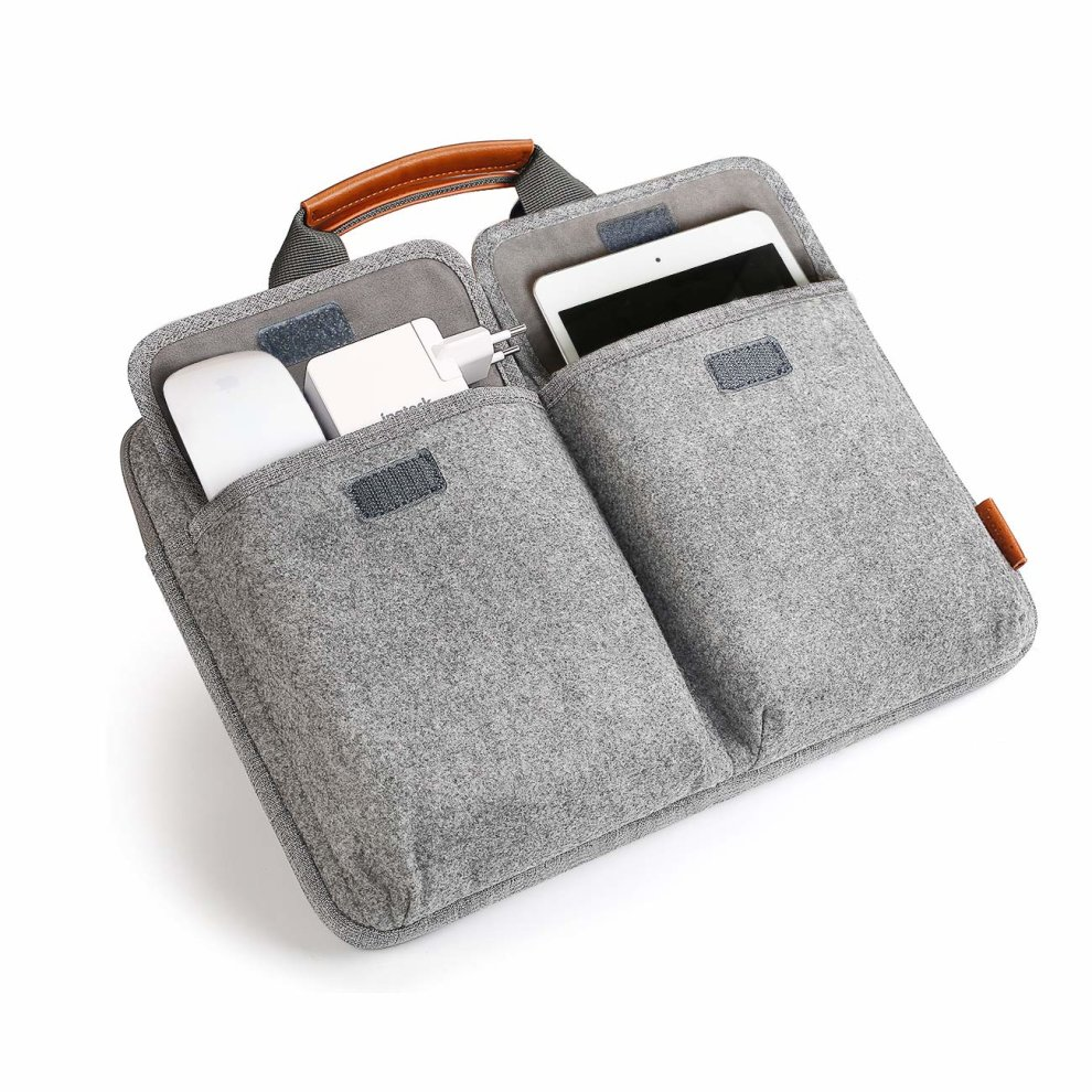 8995aac1504c Inateck 14-14.1 Inch Laptop Sleeve Briefcase, Felt Laptop Bag Case for 15''  MacBook Pro 2018/2017/2016, Up to 14.1 Inch Laptop Ultrabook Netbook...