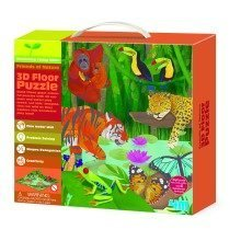 3D Floor Puzzles Rainforest - Young Minds