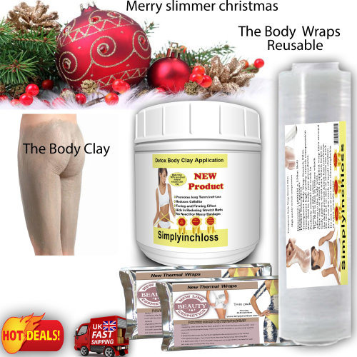 body clay inch loss wrap home spa kit