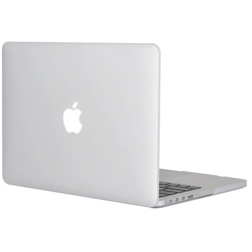 """Topideal Clear Matte Soft-Touch Hard Case 13"""" MacBook Pro 13.3"""" Retina Display"""