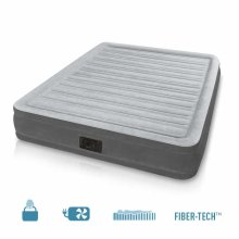Intex 67770 Inflatable Queen Size Mattress with Built In Pump